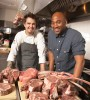 Naithan Jones (r) got angles to invest $1.5 million in his meat business