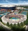 Artist's rendering of the transformation of the Billie Jean King National Tennis Center. Photo courtesy of the USTA.