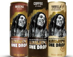 Marley iced coffee cans