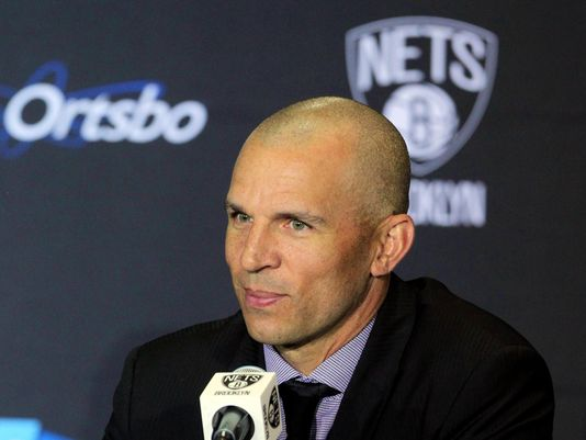 Jason Kidd was named head coach of the Nets this past spring.