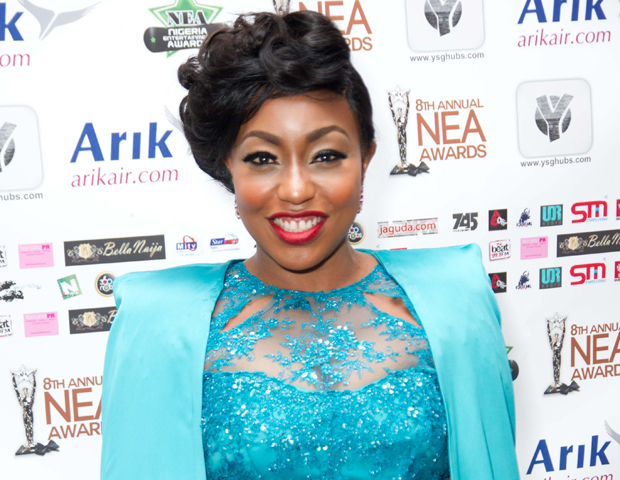 "Taking home one of the night's top awards was Nollywood star Rita Dominic for ""Best Actress in a Film."""