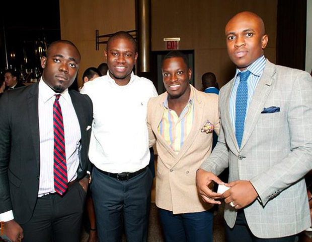 More networking with young male leaders