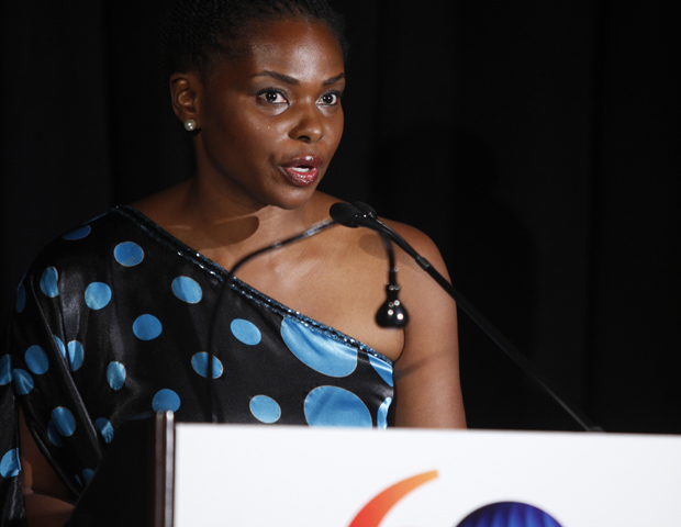 Africa-America Institute president and CEO Amini Kajunju is a native of the Democratic Republic of Congo and the first African ever to serve at the helm of the oldest nonprofit organization of its kind in the United States.