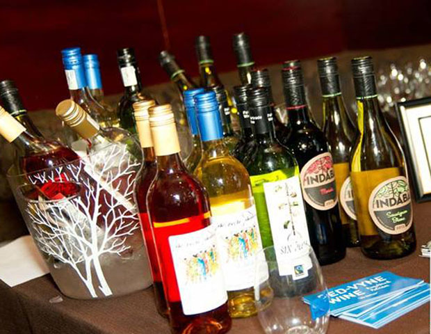Wines by African- and minority-owned companies also provided tastings to pare with dishes.