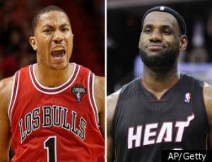 LeBron James, Derrick Rose Have Highest-Selling Jerseys Worldwide