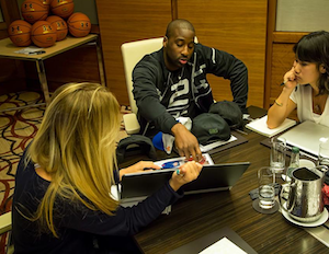 Under Armour Highlights Raymond Felton Visit to Headquarters