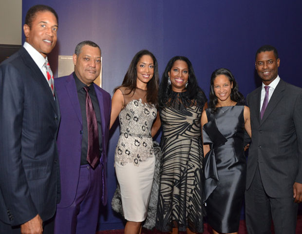 Harlem School of the Arts president and CEO Yvette Campbell (far right) is seen with honorees. Under her leadership, the school has seen tremendous endowment growth as well as forged lucrative partnerships to revive and expand its legacy.