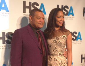 Laurence Fishburne and Gina Torres Talk Business of the Arts at NYC Benefit Gala