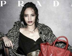 Prada's 2nd Black Campaign Model Ever, Malaika Firth, Featured in Vogue