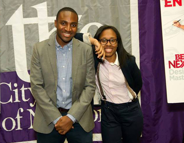 Financial analyst and Ibom LLC co-founder Andi Akpe (left), was among attendees of the event.