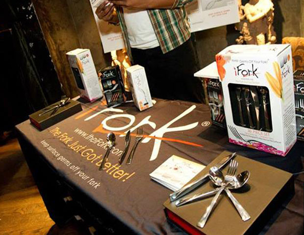 Entrepreneurs were able to display their goods for attendees.