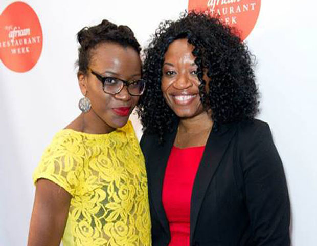 MUI PR founder Ijeoma Genevieve Mbamalu and IBOM LLC founder Anie Akpe-Lewis enjoyed the event.