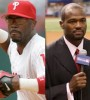 Jimmy Rollins (left) and Harold Reynolds will help anchor Fox's expansive coverage of the World Series.