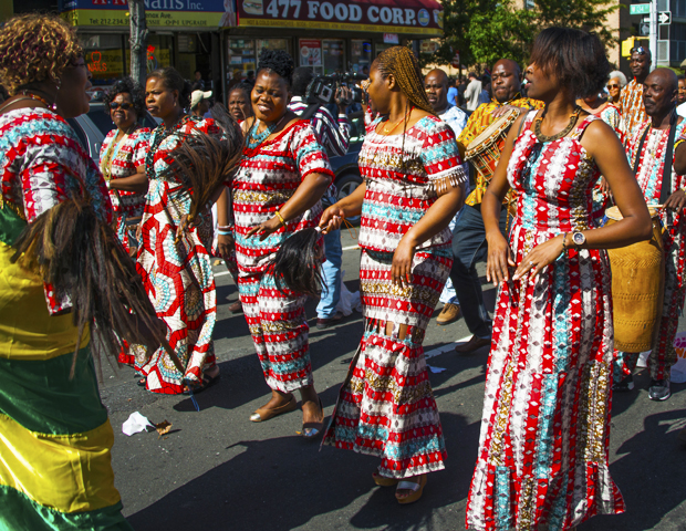 On Sept. 22, thousands from the U.S., Africa and the Caribbean gathered to celebrate their heritage and culture at the African Day Parade held in the heart of Harlem in New York City. Sen. Bill Perkins led the parade alongside dignitaries and global leaders including representatives from Argentina, Angola, Mauritania, Trinidad and Tobago, and South Africa Embassies, from Cordell Cleare, Martin R Munitz and Olivier Prevot, to Kady Doumbia, Ladji Doumbia and Kone Kad. Also, representatives from the offices of Keith Wright, Charles Rangel and Robert Jackson came out to support and enjoy the days festivities.