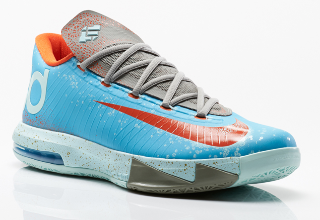 bdf7c3f75ae Nike Releases Kevin Durant VI Maryland Blue Crab Sneaker
