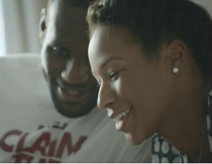 In New Ads, LeBron's Image is Smoothed Out on the R&B Tip