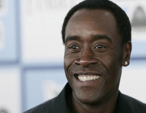Don Cheadle smiling
