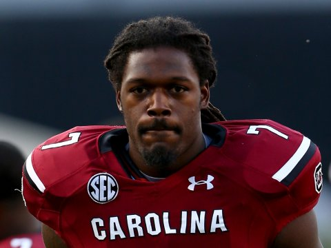 Jadeveon Clowney signs with Brett Favre's old agent, Bus Cook.