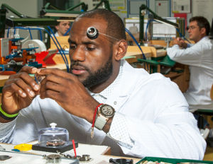 lebron james watch audemars piaget