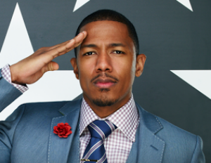 nick cannon in suit
