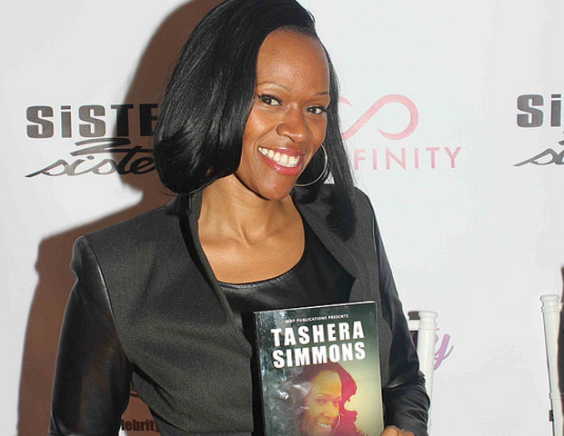 Tashera Simmons, author, reality TV star and ex-wife of recording artist DMX, came out to support the event.