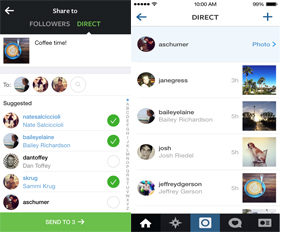 Instagram Direct: Photo-Sharing Platform Lets Users Send Pics and Videos Directly to Friends