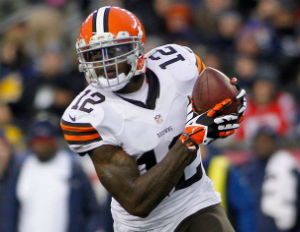 Josh Gordon, picked by the Browns in the 2012 Supplemental Draft has emerged as one of the league's top receivers.