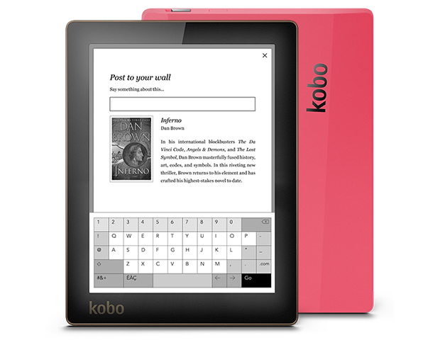 Kobo Aura ($149.99)  