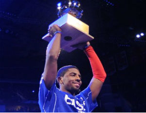 Cleveland Cavaliers All-Star Kyrie Irving Irving won the Foot Locker Three-Point Contest earlier this year.
