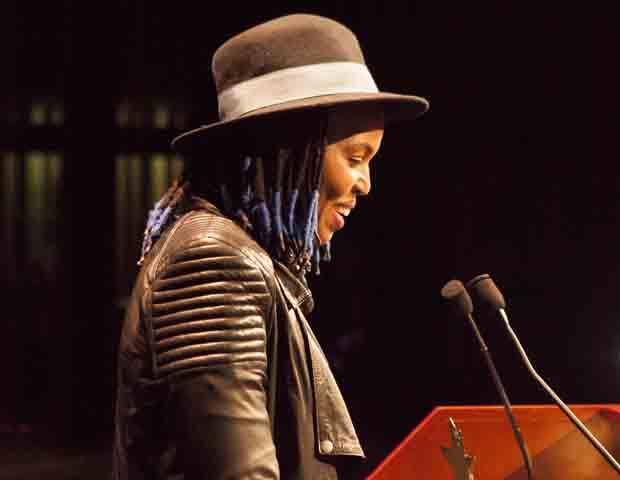 Wangechi Mutu, a native of Kenya, received the Creative Artist of the Year award.