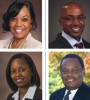 From top, clockwise, Camille Donald, ; Greg Deavens, ; Nicole Bremser, ; John Brown
