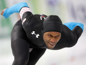 Shani Davis is gearing up for the Olympic Winter Games in Sochi, Russia.