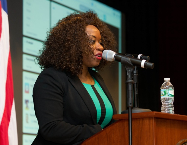 Anie Akpe-Lewis, IBOM LLC founder, co-hosted the event.