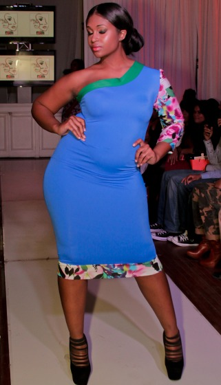 Plus Size Fashion Show At New York Fashion Week