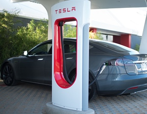 The electric car manufacturer has Supercharger stations throughout the country, enabling coast-to-coast travel.