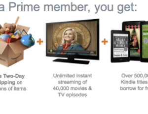 Amazon's Prime service has been expanding from two-day shipping into offering services like instant video and a lending library for Kindle owners.