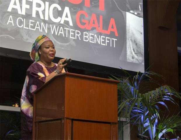 Leymah Roberta Gbowee, Liberian activist and Nobel Peace Prize laureate, spoke about the importance of FACE Africa's cause.