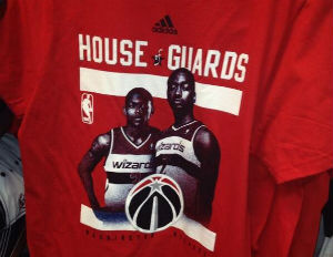 To Dismay of Some, Wizards, Adidas Begin Selling 'House of Guards' T-Shirts