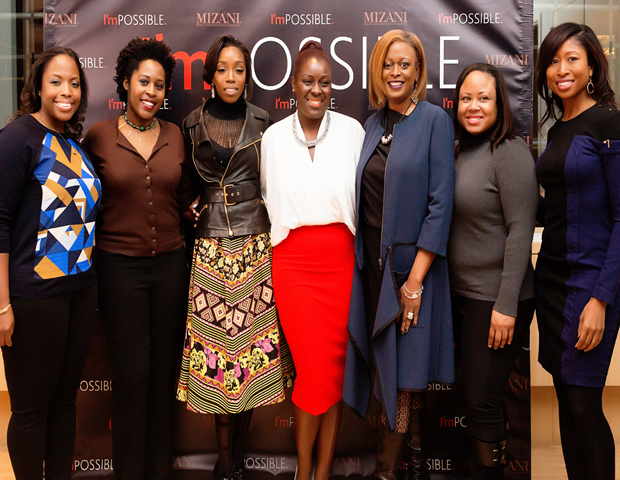 At the I'mPOSSIBLE Conversations event at the L'oreal Soho Academy---the first held in New York---power women in media, entertainment, and philanthropy shared their stories of challenge and triumph in their careers, and tips for advancement of women of color in their respective industries.