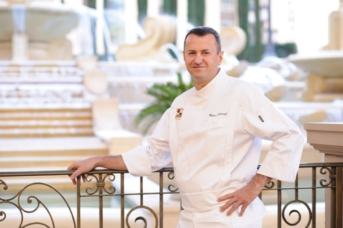 The Venetian and The Palazzo Executive Chef Olivier Dubreuil.