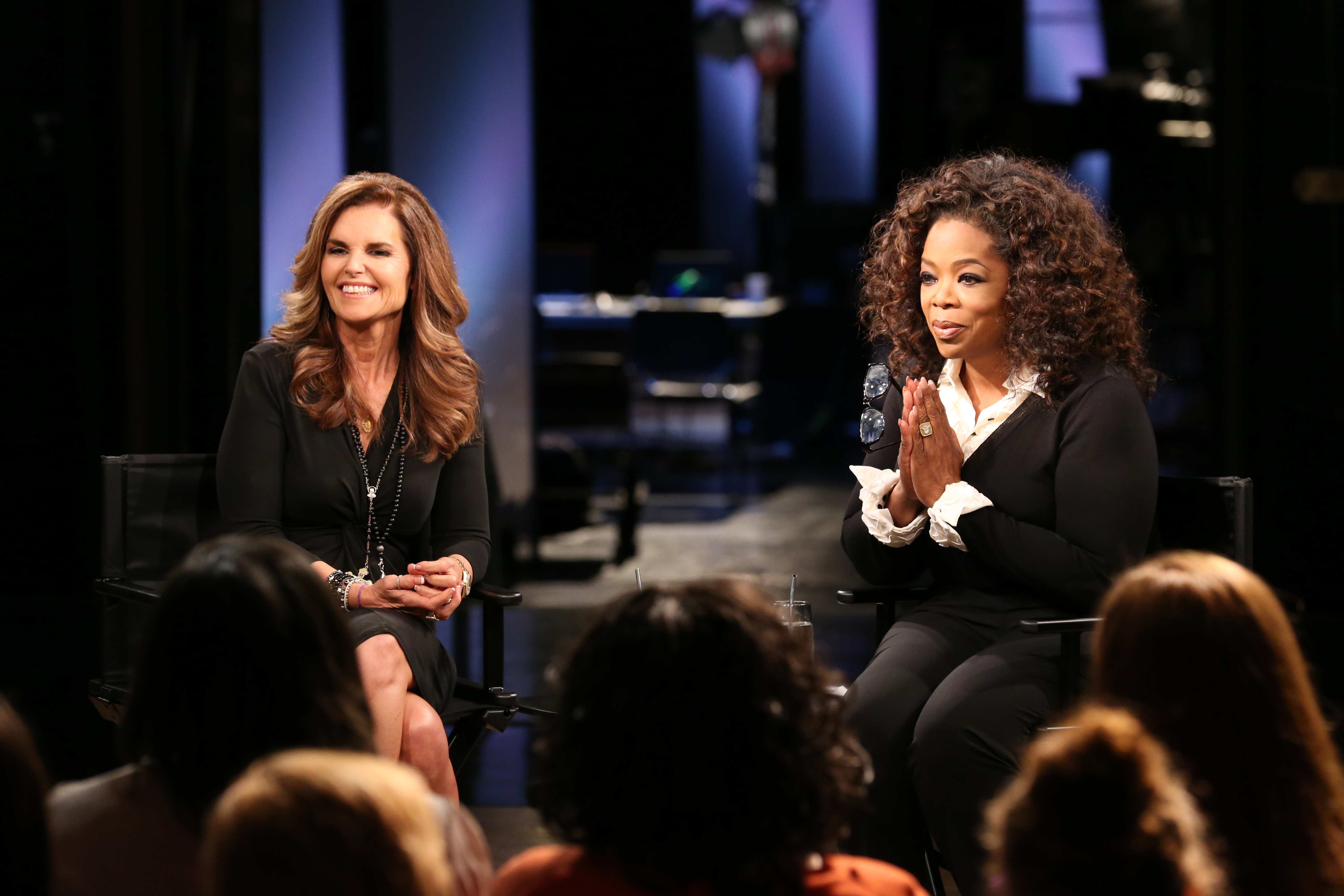 Oprah Winfrey and Maria Shriver Discuss Living Paycheck To Paycheck