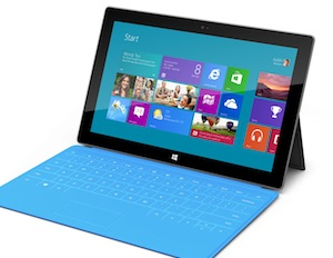 Microsoft's Surface tablet is its mobile weapon against Apple's iPad and Google's Nexus tablets.