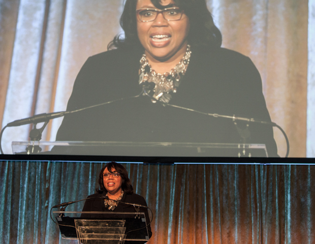 Target Inc. was honored with the Corporate Diversity and Inclusion Award. Kim Strong, vice president of diversity and inclusion, accepted the award on behalf of the organization.