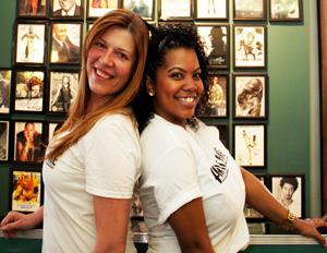 Harlem Shake founder and managing partner, Jelena Pasic, and partner, Dardra Coaxum (Image: Harlem Shake)