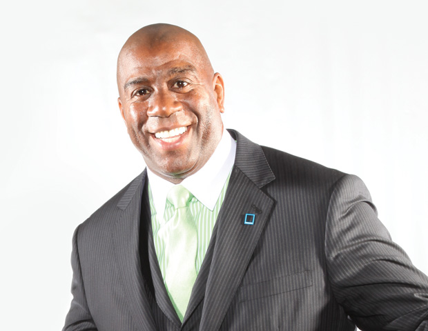 Magic Johnson to Buy Clippers Away From Donald Sterling?