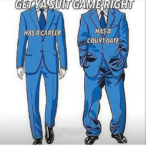 SuitMeme professional perceptions do the clothes really make the man?