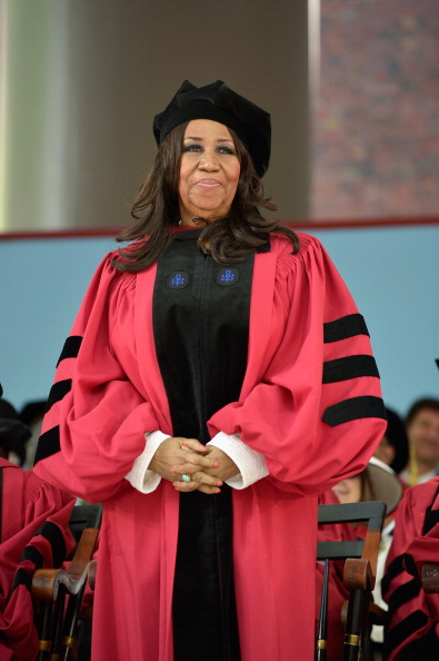 Aretha Franklin Receives Honorary Doctorate From Harvard