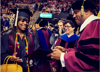 LL Cool J and Daughter Receive Degrees from Northeastern University