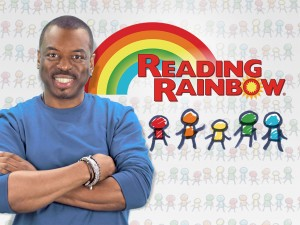 LeVar Burton Reading Rainbow
