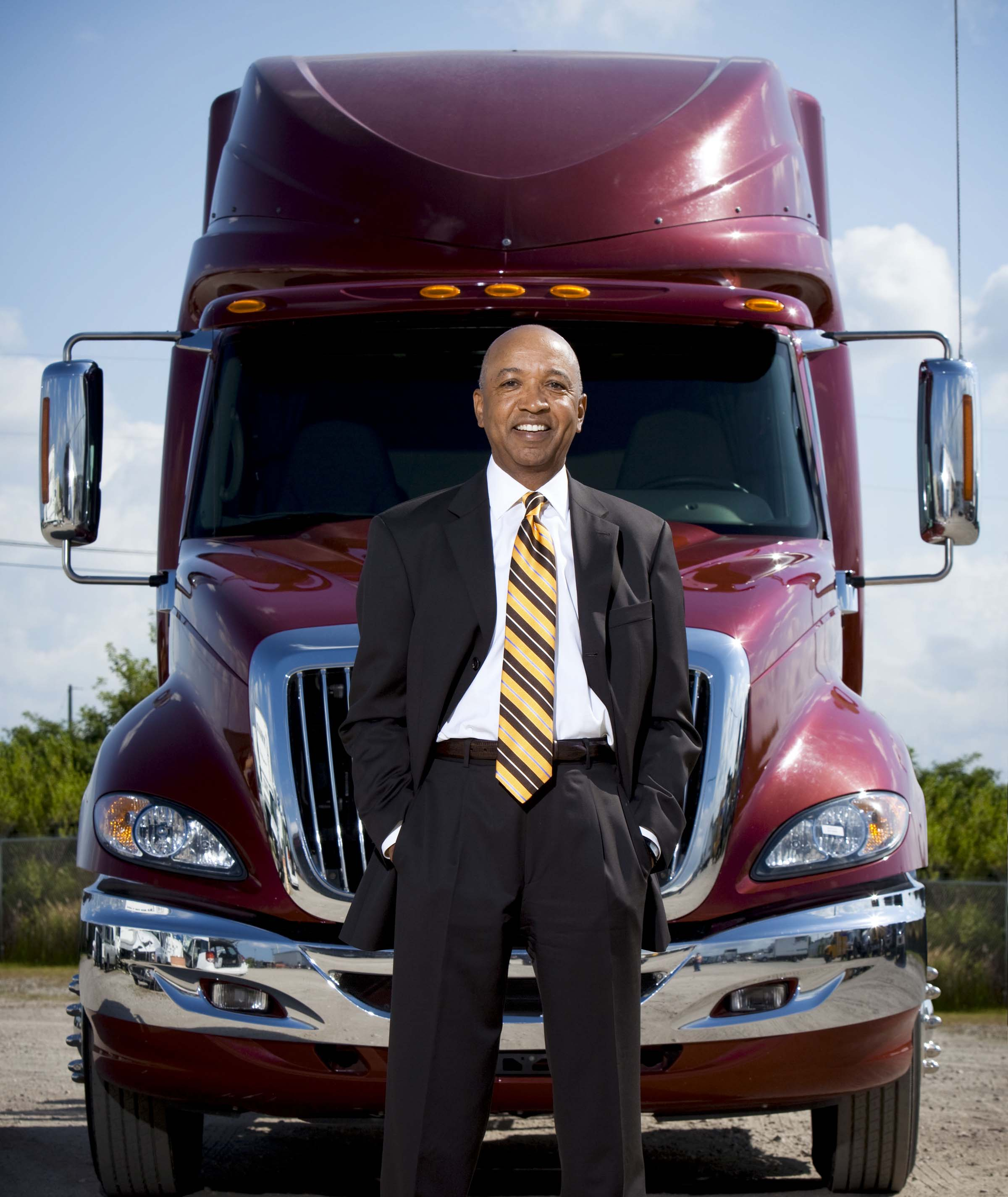 Sun State International Trucking President Oscar Horton (Image: Courtesy of Subject)